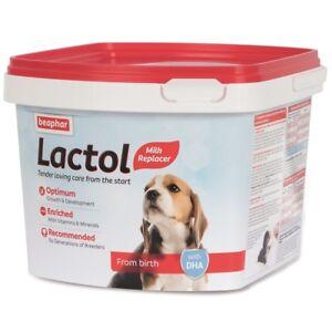 Beaphar Lactol Milk Replacer for Puppies 1kg - NEW Formula