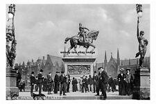 pt2627 - Black Prince Statue , Leeds , Yorkshire - photograph 6x4