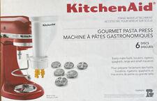 BRAND NEW KitchenAid Gourmet Pasta Press - 6 Discs - Stand Mixer Attachment Set