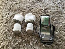Set Of 4 White Waldhausen Combination Bandages
