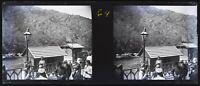 Caucaso Treno Negativo Stereo V12L25n2 Placca Da Lente Vintage c1910