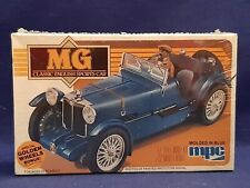 NOS MPC MG CLASSIC ENGLISH SPORTS CAR 1/32 Blue Model Car Kit 1982 - SEALED!