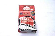 Sola Rollbandmass Bandmass Tri-Matic TM 8 m / 25 mm EC I