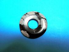 Schneeflocken – Obsidian *Befreiung*  DONUT Ø 35 mm ANHÄGER ZWISCHENTEIL