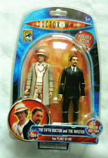 Doctor Who THE FIFTH DOCTOR and THE MASTER Comic Con Exclusive action figure
