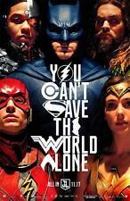 "Justice League Unite 2017 Movie Superhero HQ New Art Poster 24""x36""/60x90cm 036"