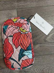 NWT Vera Bradley Sunglasses Sleeve Vintage Floral Pink Women's