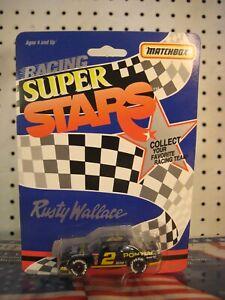 Matchbox Racing Super Stars 1/64 Die-Cast #2 Pontiac Grand Prix Rusty Wallace 94