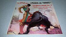 PLAZA de TOROS - LA FIESTA BRAVA vol. 2 - AFLP 1817, LATIN , WORLD VINYL RECORD