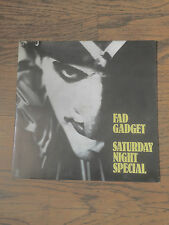 FAD GADGET - SATURDAY NIGHT SPECIAL - FRANK TOVEY,SYNTH POP!!!!