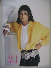 Michael Jackson,Bad, Rare Authentic 1987 Poster