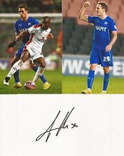CHESTERFIELD: GEORG MARGREITTER SIGNED 6x4 WHITECARD+UNSIGNED PHOTOS+COA