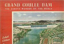 Grand Coulee Dam Souvenir Book 1946 Washington
