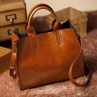 Women Leather Handbag Stylish Lady Shoulder Bag Tote Purse Messenger Satchel