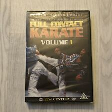 FULL CONTACT KARATE Volume 1 DVD Extreme Sports Combat Self Defence *BRAND NEW*