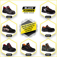 Mens Safety Trainers Shoes Boots Work Steel Toe Cap Composite Hiker Ankle SRC