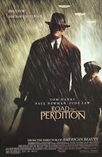 ROAD TO PERDITION MOVIE POSTER ~ RAIN 27x40 Tom Hanks