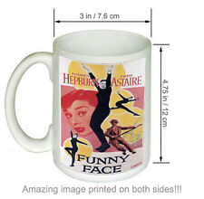 Funny Face Vintage Audrey Hepburn Fred Astaire Movie COFFEE MUG