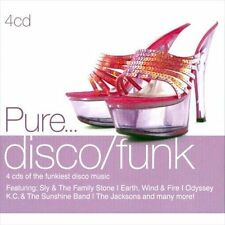 Pure... Disco/Funk by Various Artists (CD, Dec-2010, 4 Discs, Sony Music...