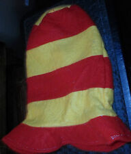 DR SEUSS RED AND YELLOW TALL HAT DRESS UP PRETEND PLAY HALLOWEEN