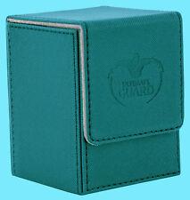 ULTIMATE GUARD XENOSKIN FLIP DECK CASE Standard Size PETROL 100+ Game Card Box