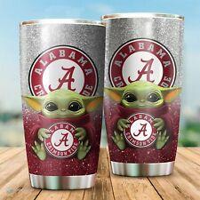 Alabama Crimson Tide Yoda Tumbler