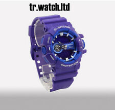 New Casio G-Shock Limited Edition Purple Blue GA-400A-6A Black Dial Men's Watch