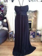 ladies monsoon black beach dress size xl 18-20