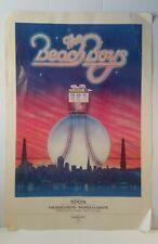 "The Beach Boys ""Padres Vs. Giants, Candlestick Park"" 9/18/1982 K-101 - 19"" x 28"""