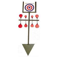SOL Spinning Cible Spinner - Rouge Set par Bisley Chasse Fusil à air comprimé