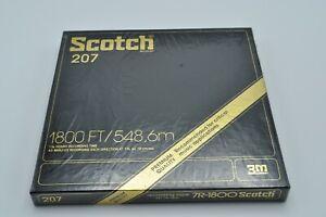 "NEW Scotch 207 Premium Quality Recording 7"" Reel to Reel Tape 1800 ft. / 7R-1800"