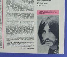 Czeslaw Niemen  JADWIGA JARMUL on the COVER 1970 Trubadurzy,Maryla Rodowicz