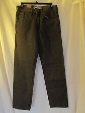 NWT Men's LEE REGULAR FIT COLORED JEANS W:30 L:32 DARK GREEN, FATIGUE
