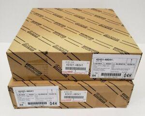 LEXUS OEM FACTORY REAR BRAKE ROTOR SET 2004-2009 RX330 RX350 (JPP)