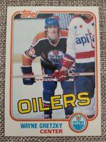 1981-82 TOPPS WAYNE GRETZKY #16 Edmonton Oilers NR-MT 3RD YEAR HIGH GRADE CARD