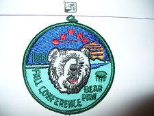 OA Awase Lodge 61, 1992 Fall Conf,Camp Bear Paw,pp,156,233,635,Bay Lakes Cncl,WI