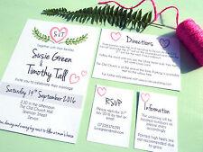 wedding invitation templates DIY printable customisable: same day download
