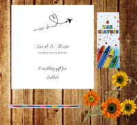 Personalised Wedding I SPY x12 Cards Table Game Favour Children Adult IS9