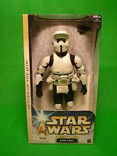"Star Wars 12"" Biker Scout Return of the Jedi Hasbro figure NEW vintage"