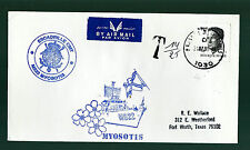 """BELGIUM KUWAIT LIBERATION DESERT STORM OPERATION """"POSTAGE DUE"""" COVER TO USA WITH"""