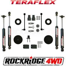 "Teraflex Jeep Wrangler JK 07-17 2 & 4 door 2.5"" Performance Boost w/ 9550 Shocks"