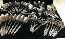 Superior Stainless Radiant Rose Flatware 53 Pieces. (B1)
