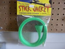Stick Jacket fishing rod cover Casting neon green color NIP