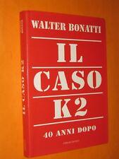 Walter Bonatti Il caso K2 40 anni dopo Ferrari Editrice 1995 prima edizione
