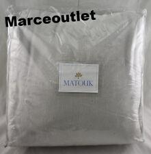 Matouk Sintra 100% Egyptian Cotton Twin Bed Blanket Silver
