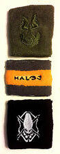 Halo 3 War Game  UNSCDF & Logo Wristband Set of 3- Sealed from Bungie