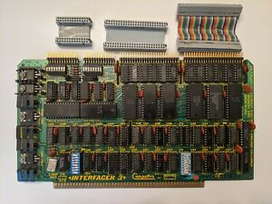 CompuPro Interfacer 3 S100 board S-100 Godbout Electronics 1981 + cables