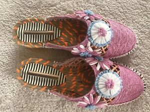 SOPHIA WEBSTER Tansy Floral Espadrilles - UK 4 / EU 37 NEW With Box