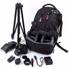 Shockproof SLR DSLR Camera Laptop Bag Lens Case Backpack Rucksack for Canon EOS