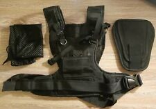 Nicama Dual Camera Strap Multi Carrier Chest Harness Vest with Mounting Hubs